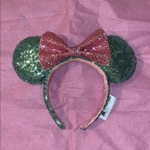 Disneyland Sequin and Glitter Minnie Ears
